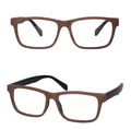 New High Quality Optical Eyewear Frame Glasses with Acetate Temple