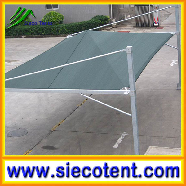 New design fashion low price carports garages with polycarbonate roof