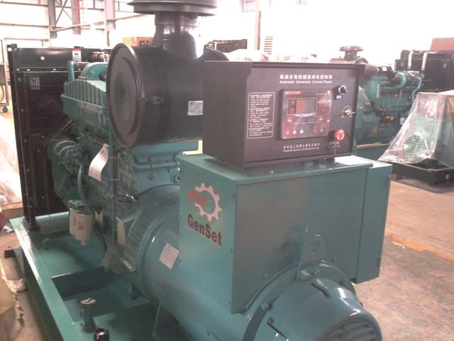 280KW/350KVA diesel generator set powered by Cummins engine NTA855-G2A