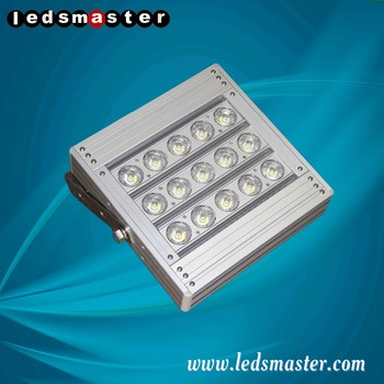 Modular design 100w led parking lot lighting with 5 years warranty