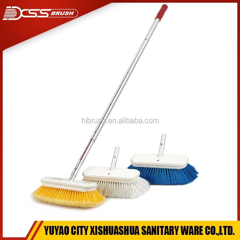 Boat cleaning brush,car wash brush with long handle,clearing brush