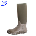 Many Years Factory camo rubber hunting boots waterproof