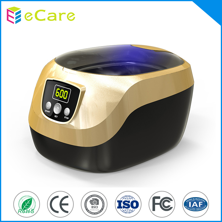 Fashion design 2017 jewelry dinnerware ultrasonic cleaner