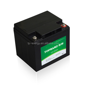 Lithium Battery 12V 50Ah Rechargeable Starting Battery for Car Starter