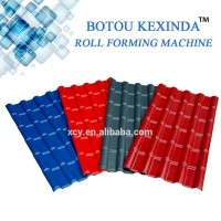 Glazed Tile Roll Forming Machine, Roof plate Making Machines Prices