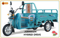 eco hybrid cargo tricycle electric tricycle auto rickshaw
