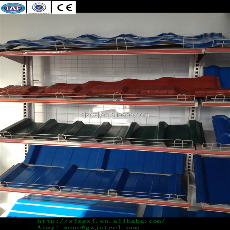 Blue and red stainless steel sheet cheap sale roofing shingle sheet