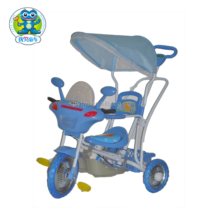 New design wholesale chldren riding tricycle with music and baby tricycle with rubber wheels