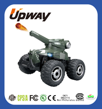 2017 Top Selling Soft Bullets Shooting RC Tank Model for Kids