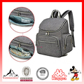 Baby Diaper Bag Handbag Smart Organizer Waterproof Diaper Backpack with Changing Pad Stroller Straps