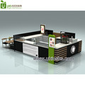 Doughnut Snack Food Kiosk Design Donut Food Prepare Counter Design