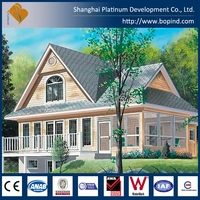 Prefab Wooden House Made in China