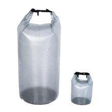 25L transparent pvc tarpaulin clear waterproof dry bag