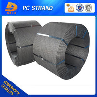 High Quality 7 Wire PC Steel Strand Grade 270 ASTM-A416