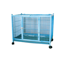 Metal Wire Dog Cage/Large Steel Dog Cage/Steel Bar Dog Cage D701B