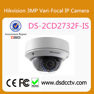 DS-2CD2732F-IS Hikvision CCTV 3MP Full HD1080P indoor use Vari-focal IP Dome Camera