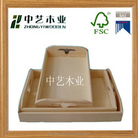 Trade assurance hand made zebra wooden plates and trays