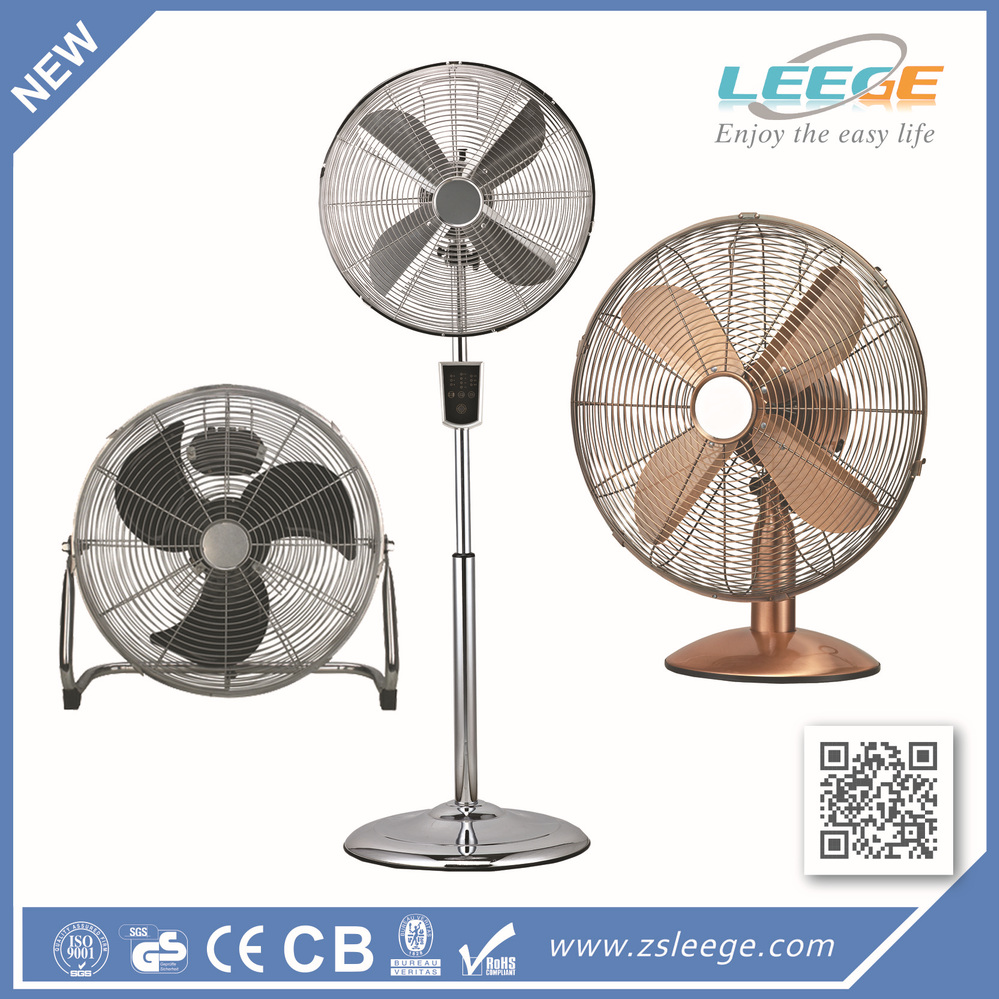 Powerful Floor Fans : Quot powerful high velocity chromed