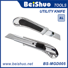 18MM Aluminum Utility Cutter Knife With One Blade And Release Button Option Hand Tool