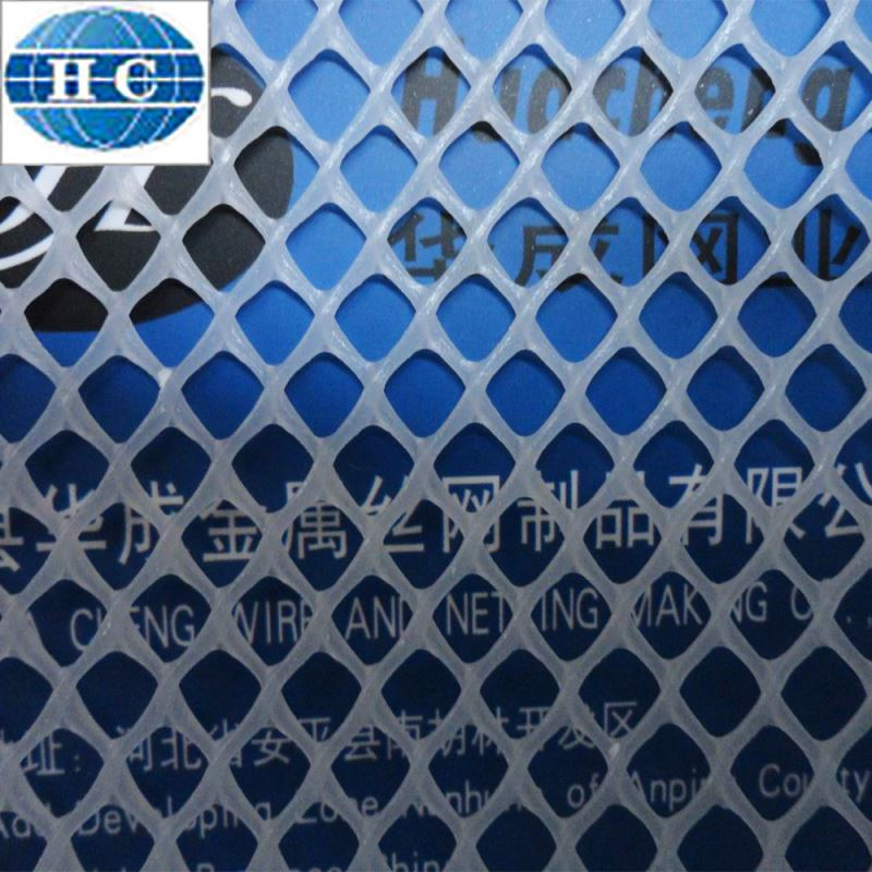 wire mesh extruded plastic flat mesh
