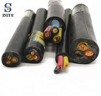Outdoor waterproof electrical rubber copper power cable for Industrial
