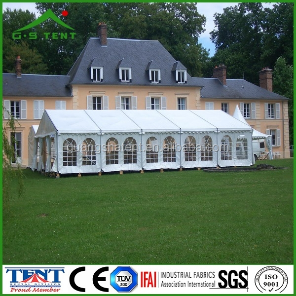 fancy wedding party marquee tent