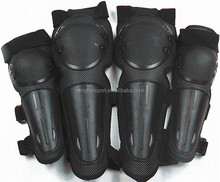 Strong Protective motorcycle motocross elbow and knee pads bike racing cross country Plastic shell knee elbow guard