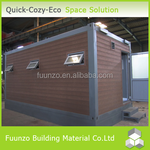 Durable Modern Underground Container Home with Lamp