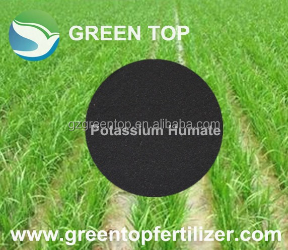 Humic acid 55%,Potassium Humate, Organic Fertilizer on sale with Manufacturer CAS 68514-28-3