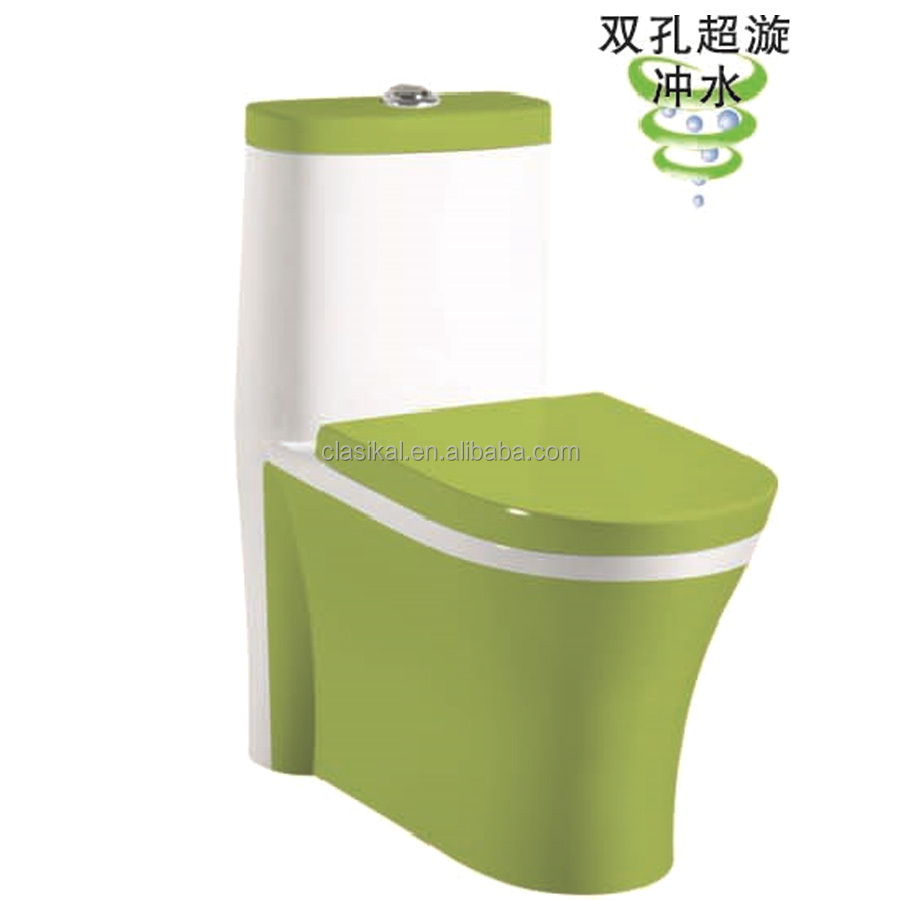 Sanitary ware products antique color Chinese one piece toilet
