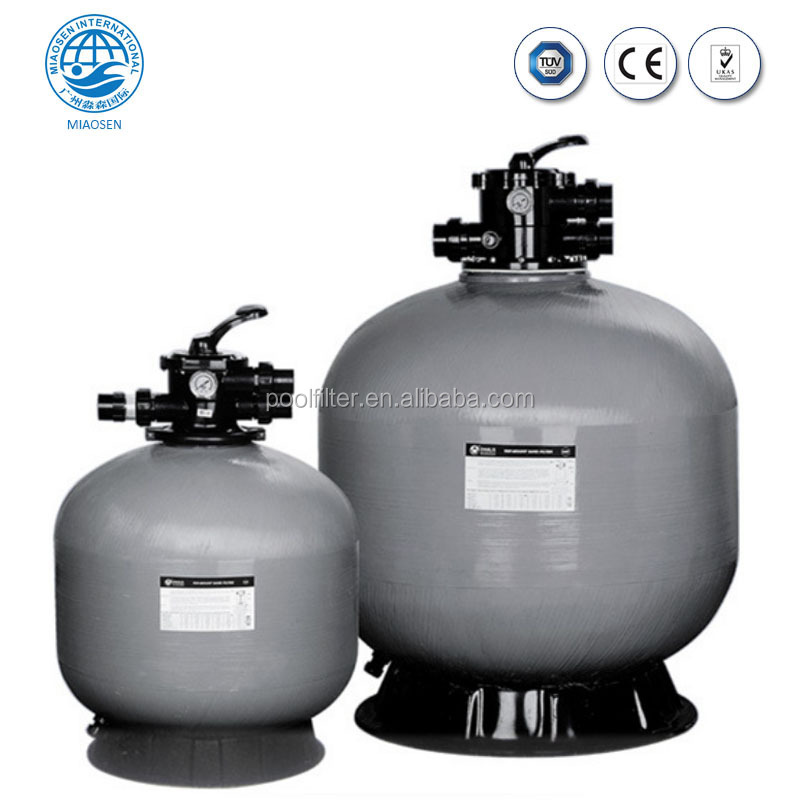 Manufacture Fiberglass Sand Filter Swimming Pool Filters