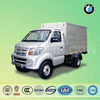 Sinotruk CDW 1650 single cabin fast food mini van truck
