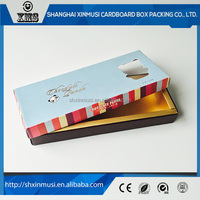Factory supply custom paper boxes for chocolate