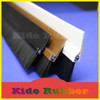 KIDE pvc weather strip bottom draught excluder door brush seal