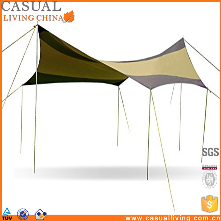 Multi-use Portable Easy Set Up Canopy 16 x 16 Sun Shade Shelter Tarp Gazebo Tent - For Backyard Party Wedding Camping