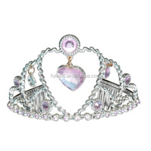 wholesale heart shape wedding bridal crystal pageant tiara crown