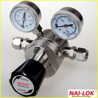 NR61 Stainless Steel Gas Pressure Regulator for Mass Flow System