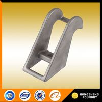 load large carbon steel casting titanium turning machine parts