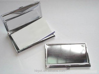 Metal business card holder,business card holder, name card holder