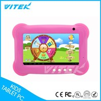 2015 Best Christmas Gift 7 '' Italian language children learning Tablet PC