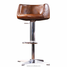 DG-6P8A Cheap Used Commercial Metal Industry Swivel metal bar stools
