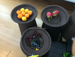 Stocked,Folding,Eco-Friendly Feature and Food Use artificial flower shaped fruit basket