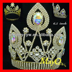Big Ab crystal queen pageant tiara crown for sale