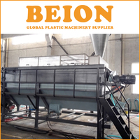 BEION lldpe ldpe pe hdpe plastic film recycling washing line for United kingdom