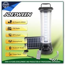 2017 rechargeable camping lantern emergency solar stand light lantern