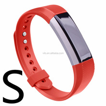 Colorful Expendable Soft Silicone Rubber Watch Bands for Fitbit Alta HR