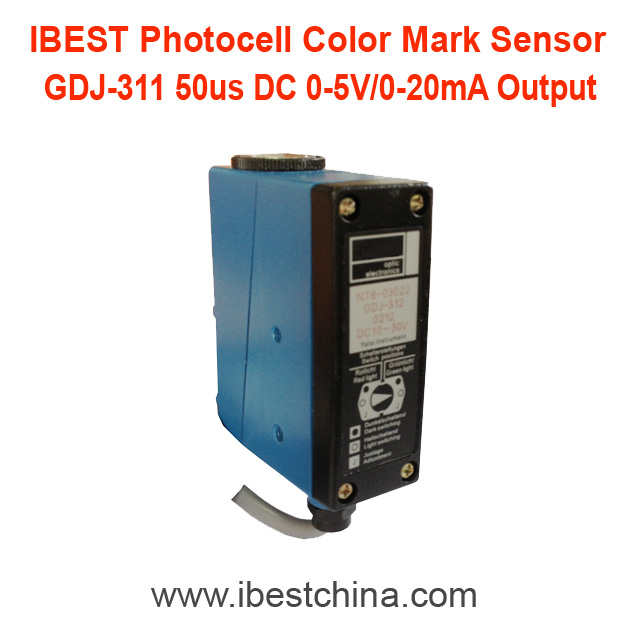 GDJ-311 0-20mA Analog Output Color Eyes Mark <strong>Sensor</strong> Switch/Photocell Photoeye <strong>Sensor</strong> Replace NT6 (IBEST)