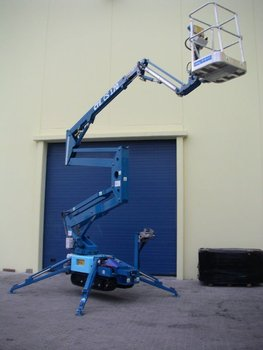 Track Mounted Cherry Picker