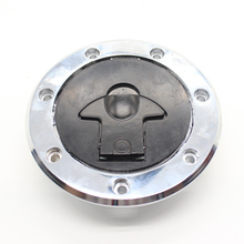 FXCNC Factory CNC Machined Motorcycle Fuel Gas Cover Tank Cap 7 holes