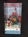 New style christmas gifts fiber optic christmas tree and snowman with PVC box